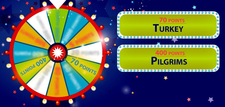Q 5. The wheel spins again! Look at the clues to figure out which event we are referring to.
