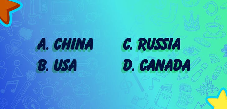 Q 3. Put these countries in order according to area, from smallest to largest!