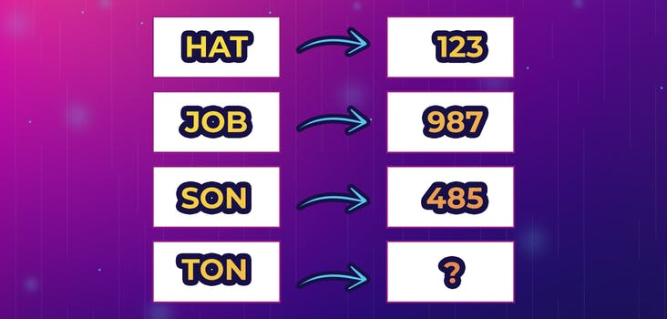 Q 5. What number would the word 'TON' result in? Type your answer in below!